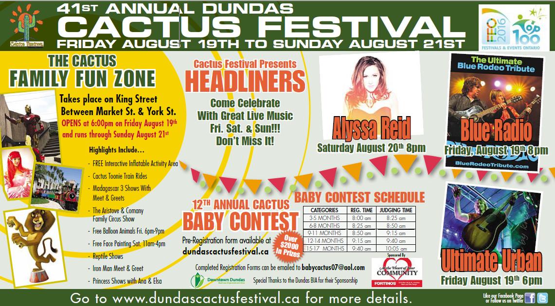 41st Annual Dundas Cactusfest