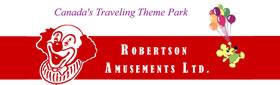 Robertson Amusements Sponsor Logo Dundas Cactus Festival