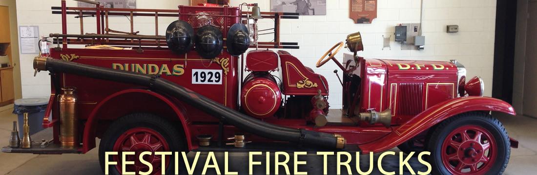 FESTIVAL FIRE TRUCKS